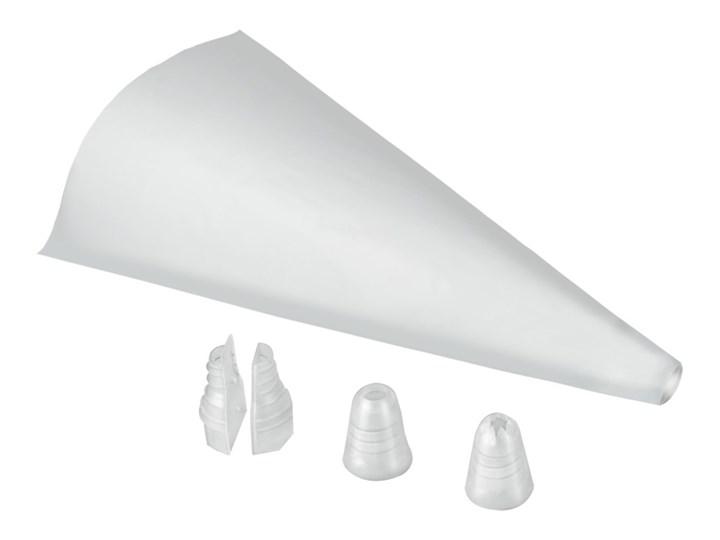 Komplet 20 rękawów cukierniczych z 2 nakładkami Metaltex Cake Maker, 41x26 cm Kategoria Dekoracja wypieków