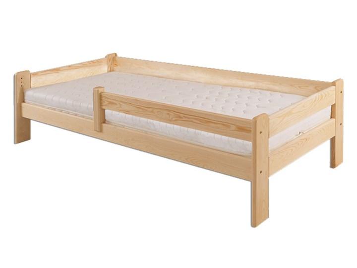 łóżko Z Barierką 90 X 200 Lk137 Drewmax