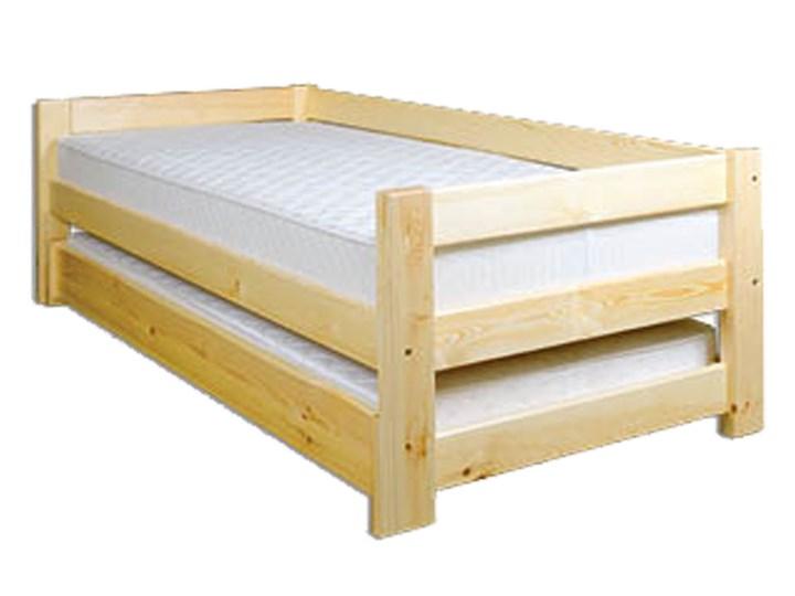 łóżko Podwójne Drewniane Sosnowe Lk134 Drewmax