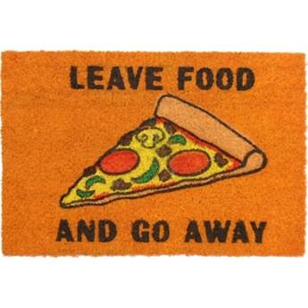 Zostaw jedzenie i odejdź