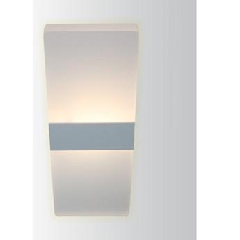 LM P 507 6W NOWOCZESNY PLAFON LAMPA SUFITOWA BIAŁY 27x10CM 400lm=35W 3000K LED