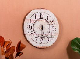 Zegar ścienny Z Przyklejanymi Cyframi Pomysły Inspiracje Z Homebook