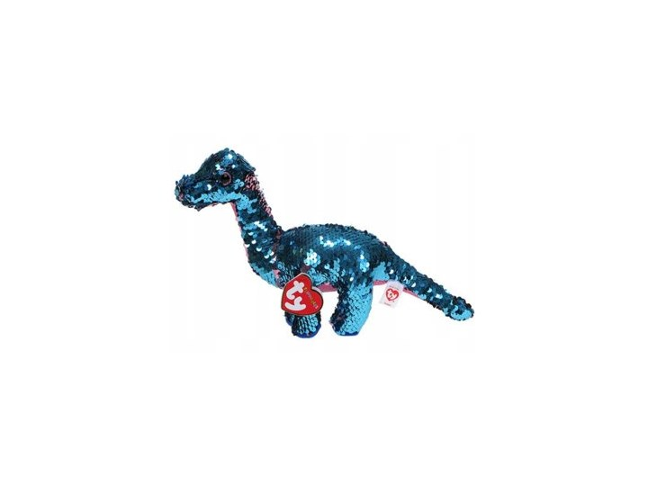 Maskotka TY INC Beanie Boos Flippy - dinozaur Tremor z cekinami 17 cm Hipopotamy i nosorożce Kategoria Maskotki i pluszaki