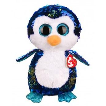 Maskotka TY INC Beanie Boos Flippables Payton - pingwin 28 cm