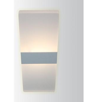 PP Design P 507 6W NOWOCZESNY PLAFON LAMPA SUFITOWA BIAŁY 27x10CM 400lm=35W 3000K LED