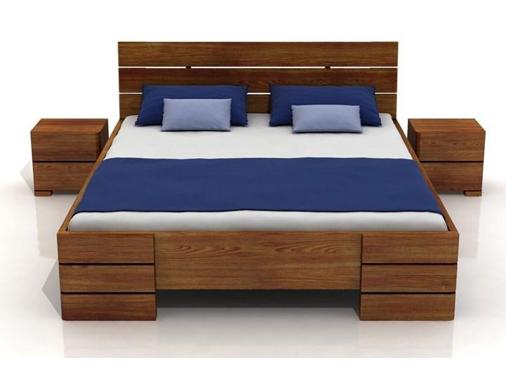łóżko Sosnowe Sandemo Wysokie 120x200