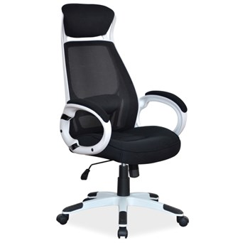 Fotel biurowy z oparciem z siatki Q-409