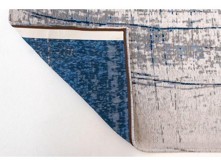 Dywan Nowoczesny Biało Niebieski - BRONX AZURITE 8421 Bawełna Poliester Dywany Pomieszczenie Sypialnia Prostokątny Pomieszczenie Salon