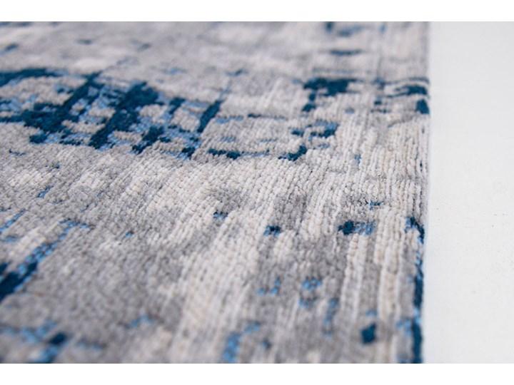Dywan Nowoczesny Biało Niebieski - BRONX AZURITE 8421 Prostokątny Dywany Bawełna Poliester Pomieszczenie Sypialnia