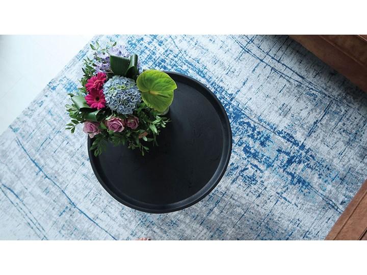 Dywan Nowoczesny Biało Niebieski - BRONX AZURITE 8421 Bawełna Poliester Prostokątny Dywany Kategoria Dywany