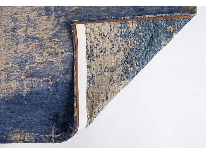 Dywan Nowoczesny Niebieski - ABYSS BLUE 8629 Dywany Bawełna Prostokątny Pomieszczenie Salon