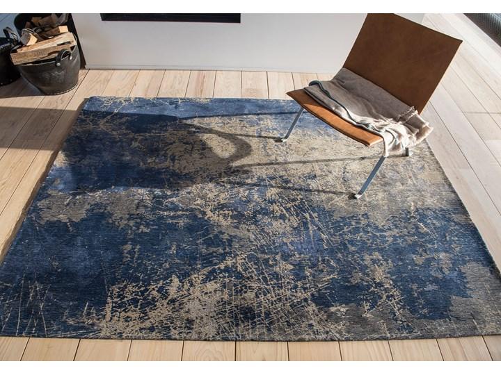 Dywan Nowoczesny Niebieski - ABYSS BLUE 8629 Prostokątny Dywany Pomieszczenie Salon Bawełna Pomieszczenie Sypialnia