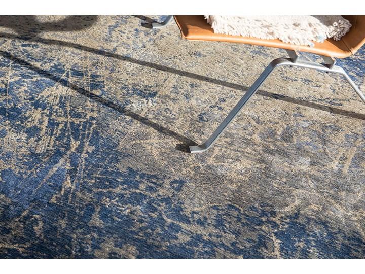 Dywan Nowoczesny Niebieski - ABYSS BLUE 8629 Pomieszczenie Salon Prostokątny Bawełna Dywany Kategoria Dywany
