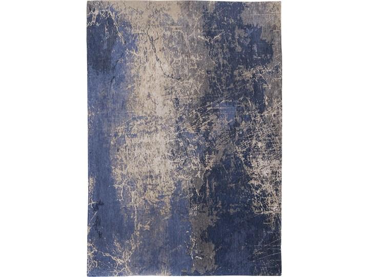 Dywan Nowoczesny Niebieski - ABYSS BLUE 8629 Bawełna Prostokątny Dywany Pomieszczenie Sypialnia