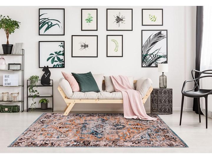 Dywan Nowoczesny Pomarańczowo Niebieski - SERAY ORANGE 8705 Prostokątny Dywany Bawełna Kategoria Dywany