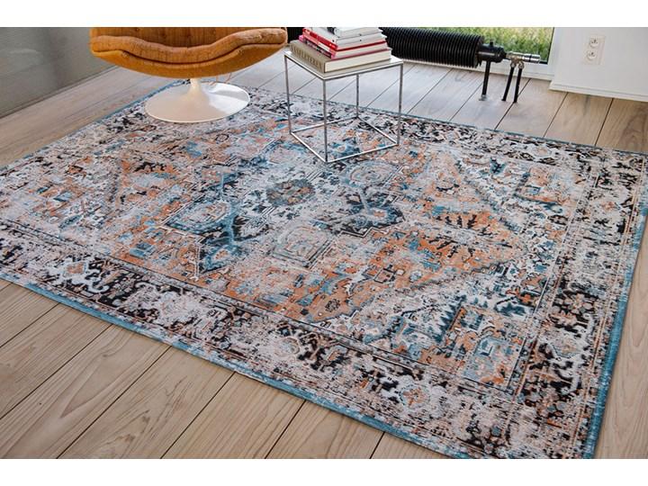 Dywan Nowoczesny Pomarańczowo Niebieski - SERAY ORANGE 8705 Prostokątny Bawełna Dywany Kategoria Dywany