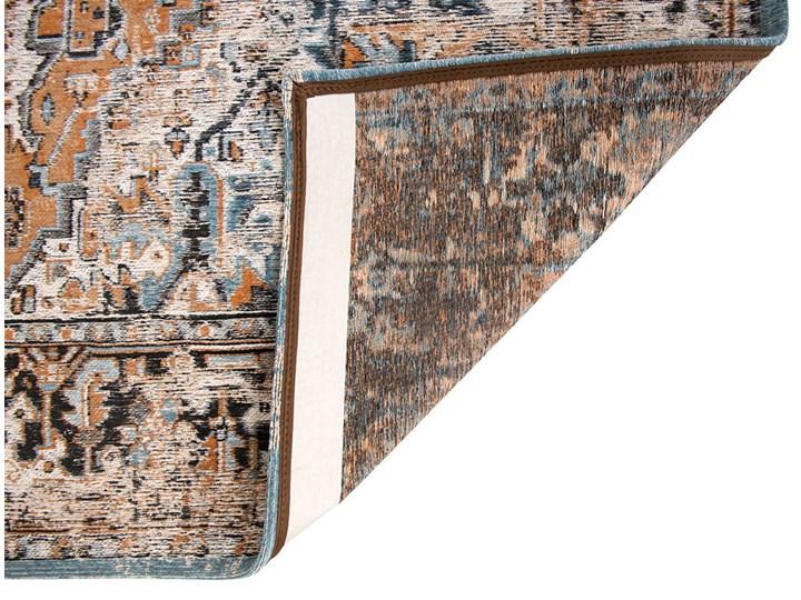 Dywan Nowoczesny Pomarańczowo Niebieski - SERAY ORANGE 8705 Bawełna Dywany Prostokątny Pomieszczenie Salon Kolor Wielokolorowy