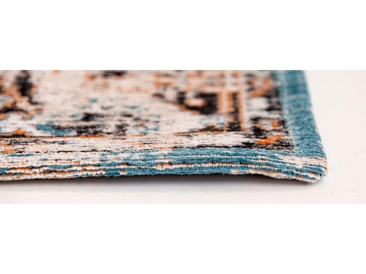 Dywan Nowoczesny Pomarańczowo Niebieski - SERAY ORANGE 8705 Prostokątny Dywany Bawełna Pomieszczenie Salon Pomieszczenie Przedpokój