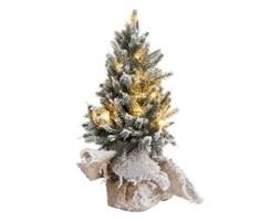Dekoracja świąteczna z oświetleniem Snowy 14x30 cm