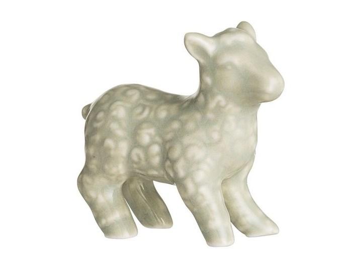 Dekoracja stojąca Owieczka x6 cm biała