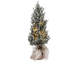 Dekoracja świąteczna z oświetleniem Snowy 20x60 cm