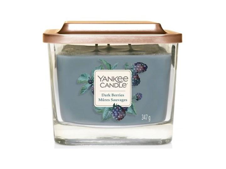 Świeca zapachowa z 3 knotami Yankee Candle Dark Berries