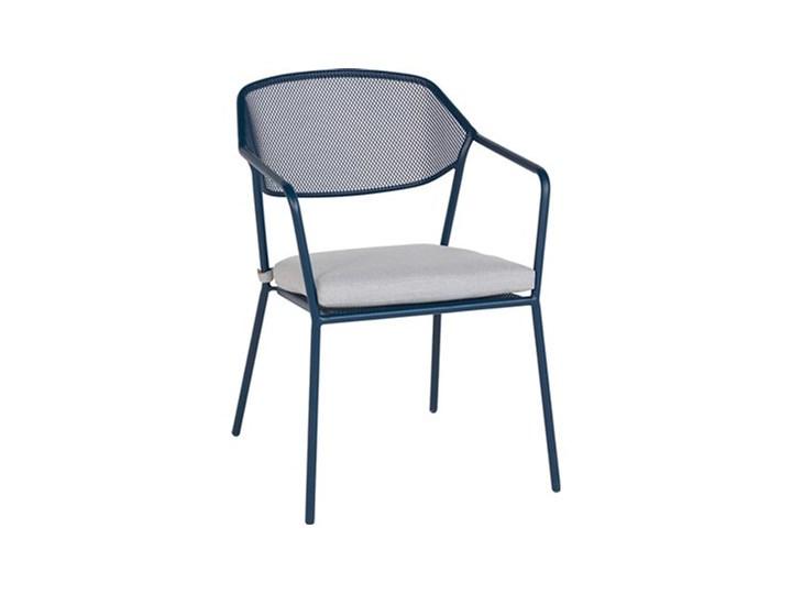 Obi Living Garden Krzesło Metalowe Mesh Z Poduszką