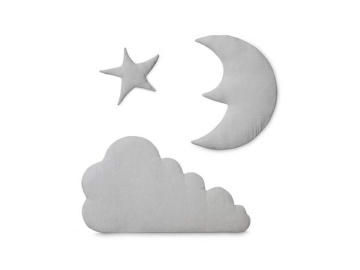 Dekoracja ścienna Moon Cloud Star jasnoszara