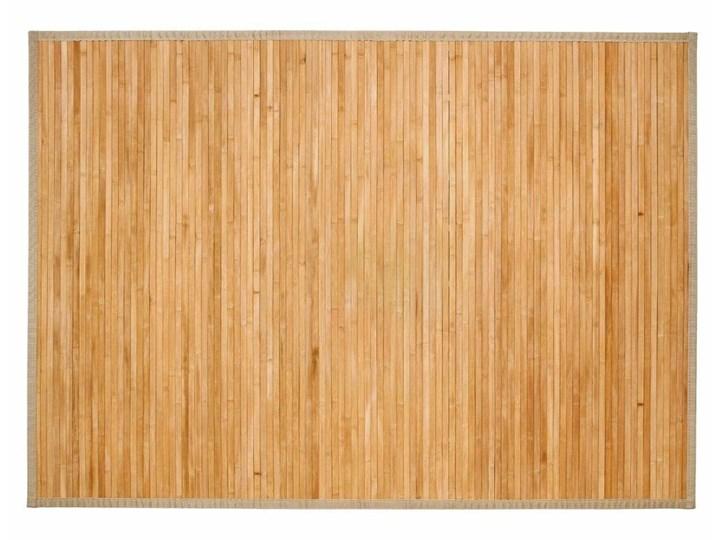 Mata Bambusowa Prostokątna Duża W Kolorze Beżowym Naturalny