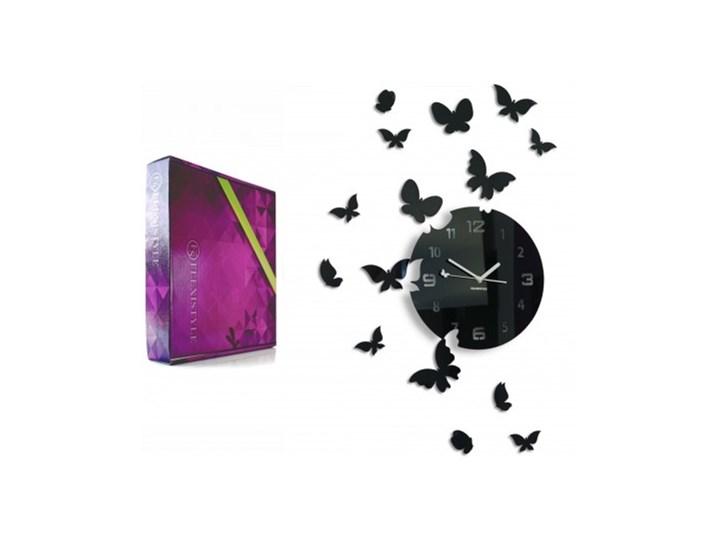 Zegar ścienny motyle 15 motylki