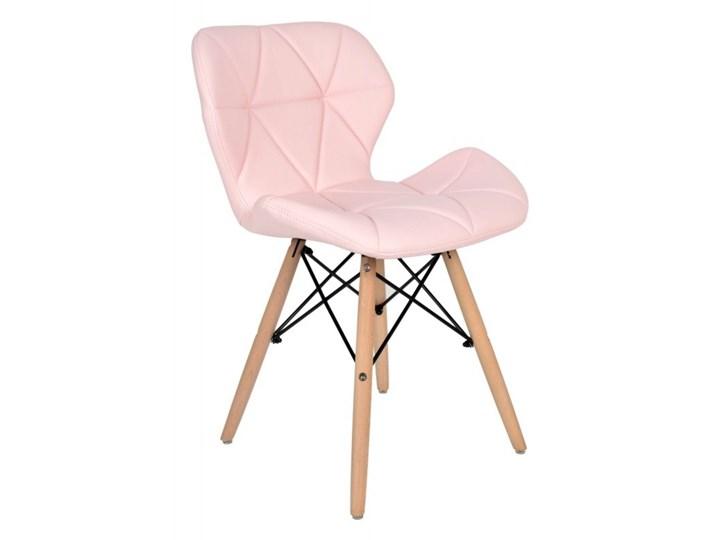 Krzesło Oslo Różowe