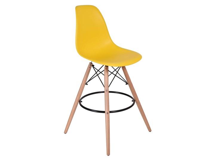 Hoker Krzesło Capri - żółty