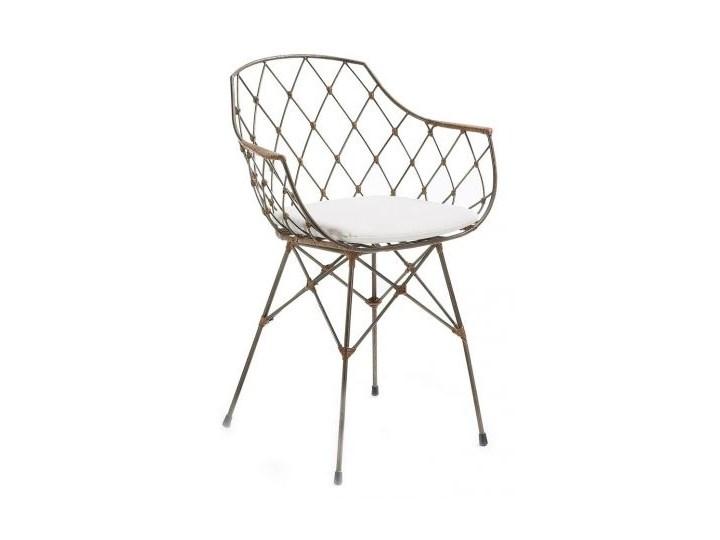 Krzesło Metalowe Energy Z Podłokietnikami