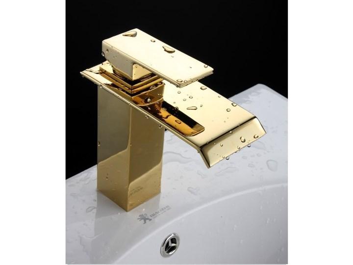 BATERIA ŁAZIENKOWA , GOLDEN Bateria stojąca Wykończenie Mosiądz Kolor Złoty