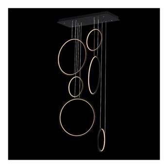 Lampa wisząca Ledowe Okręgi No.8 LA076/P_90_in_4k_black ALTAVOLA DESIGN LA076/P_90_in_4k_black