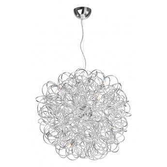 Lampa wisząca MYSTIC 87475 40 cm aluminium Sompex Lighting 87475