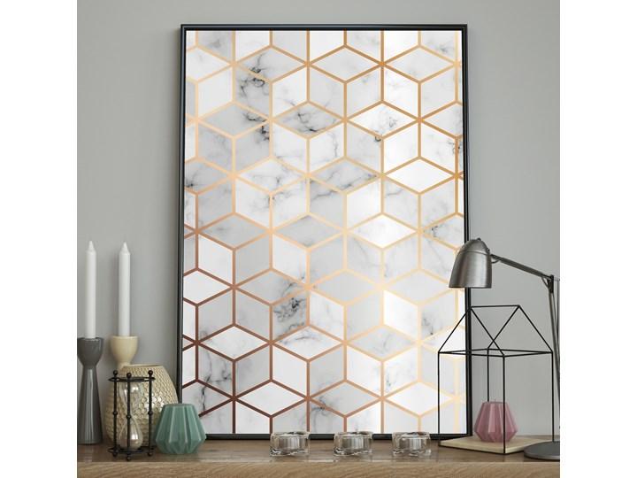 DecoKing - Plakat ścienny – Marble - Cubes