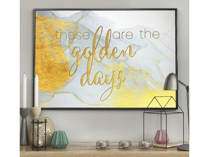 DecoKing - Plakat ścienny - Golden Days 40x50 cm 50x70 cm Grafika Plakaty z napisami 70x100 cm