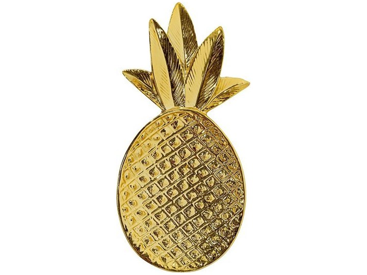 Tacka Ananas Bloomingville złota