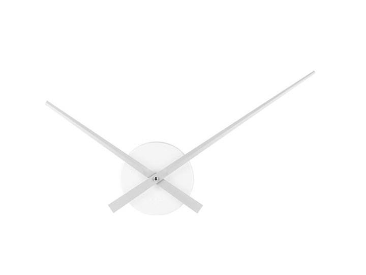 Zegar ścienny Little Big Time Mini srebrny Styl klasyczny