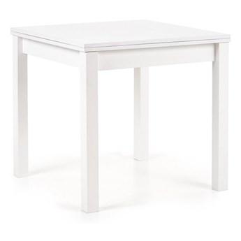 Rozkładany stół Gracjan w kolorze białym