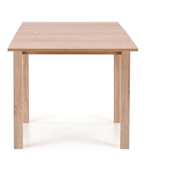 Rozkładany stół Gracjan w kolorze drewna