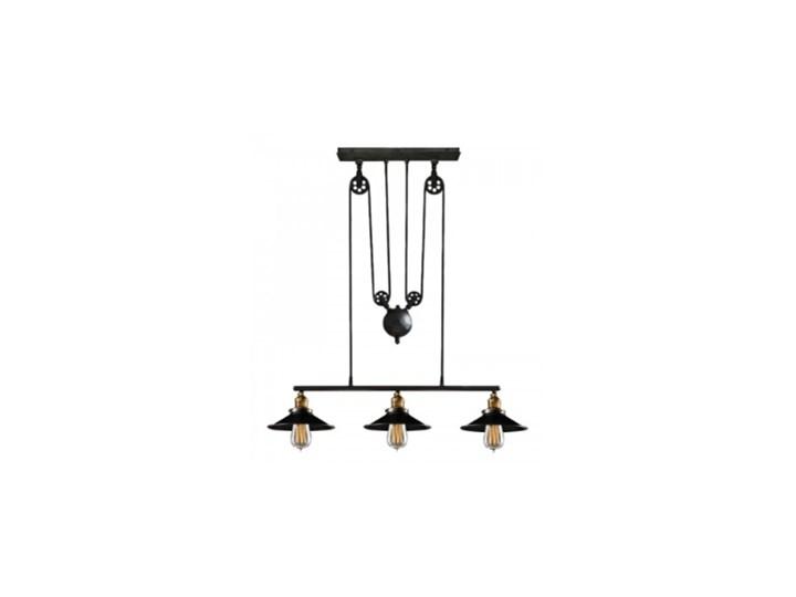 Street Loft Triple Lampa Sufitowa Retro Lampy Wiszące Zdjęcia