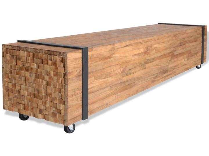 Vidaxl Szafka Pod Telewizor Z Drewna Tekowego 150 X 30 X 30