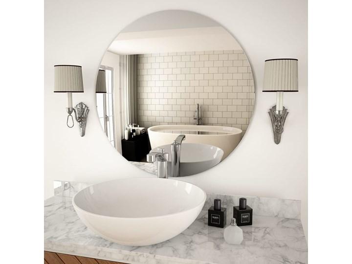 vidaXL Lustro ścienne, 70 cm, okrągłe, szklane Lustro bez ramy Kategoria Lustra Pomieszczenie Salon