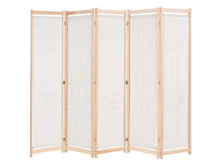 vidaXL Parawan 5-panelowy, 200 x 170 cm Konstrukcja Drewniana Szerokość 200 cm Liczba skrzydeł Pięcioskrzydłowe