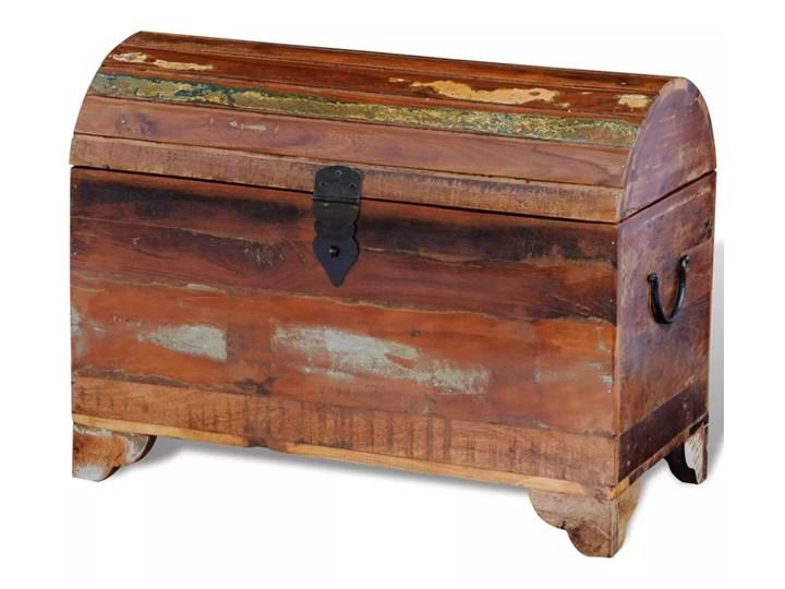 vidaXL Kufer z drewna odzyskanego Skrzynia drewno Styl vintage