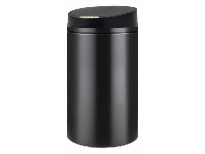 vidaXL Automatyczny kosz na śmieci z czujnikiem, 42 L, czarny