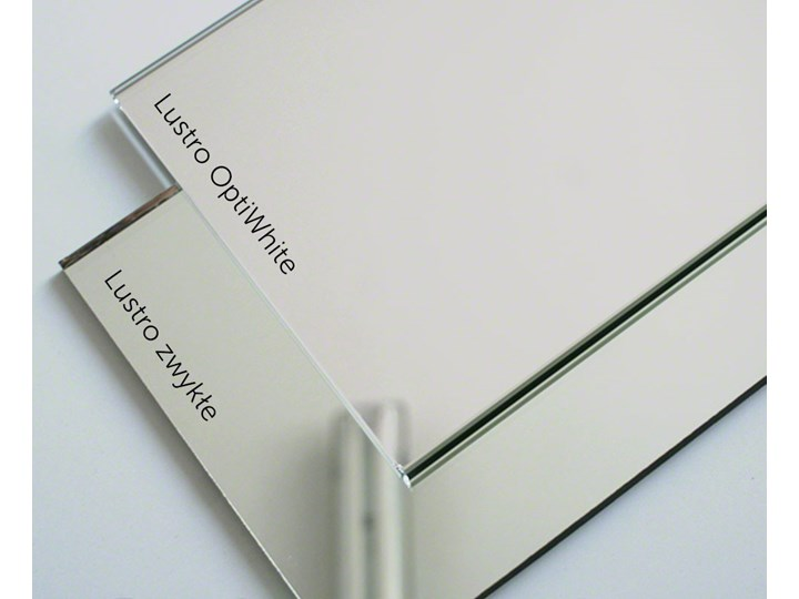 Lustro owalne super białe Lustro bez ramy Ścienne Kategoria Lustra