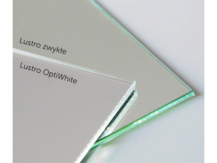 Lustro owalne super białe Pomieszczenie Łazienka Lustro bez ramy Ścienne Kolor Srebrny